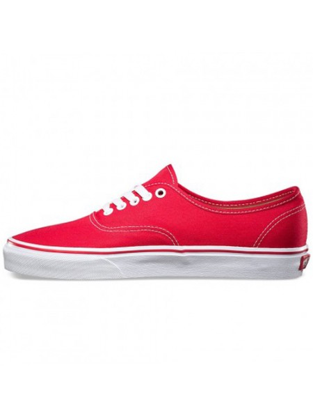 Vans Authentic Red красные