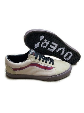 Кеды Vans Low Beige/Burgundy