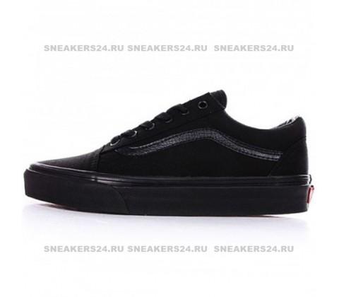 Кеды Vans Low Old Skool All Black