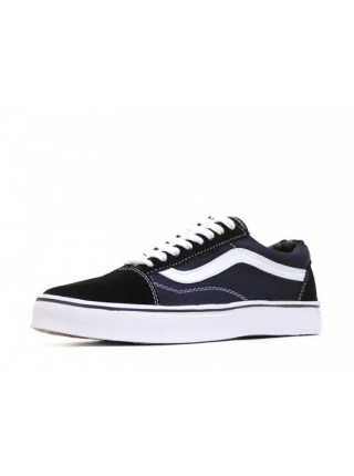 Кеды Vans Low Old Skool Black Suede