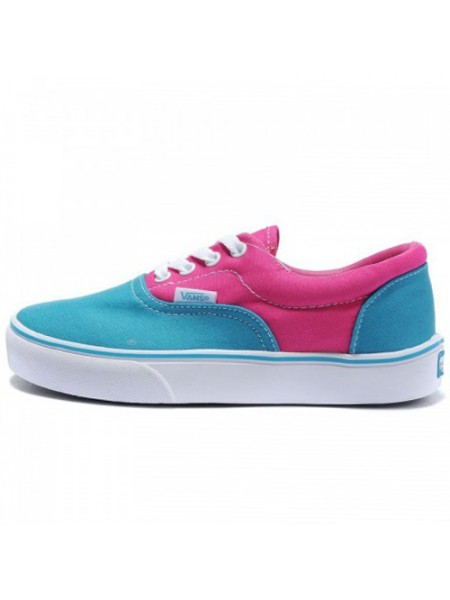 "Кеды Vans ""Era"" Low Pink/Blue"
