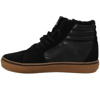 Кеды Vans Old Skool High Black With Fur